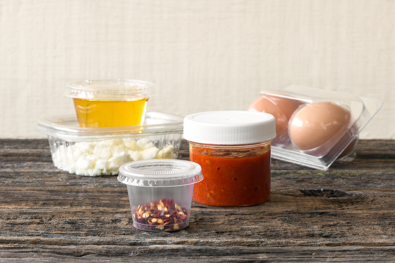 Sun Basket reusable and recyclable containers and jars - a photo